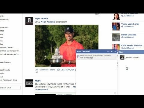 How to Enter Text in the Chat Box on Facebook : Social Media Tips