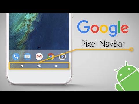 How To Get Pixel Navbar [No Root]