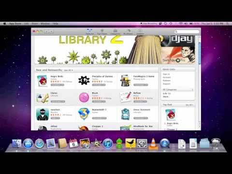 Mac App Store: Walkthrough