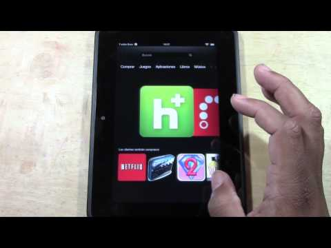 Kindle Fire HD   How to Change the Language​​​ | H2TechVideos​​​