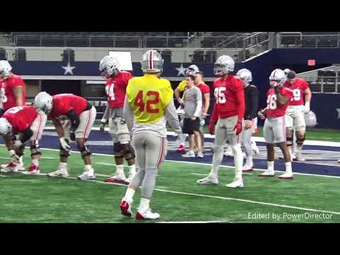 Sights, sounds from Ohio State practice in AT&T Stadium