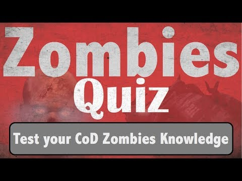 5 Things Good Zombie Players Should Know - Black Ops 3 Zombies Quiz