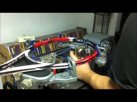Gamma X-ES Stringing Machine