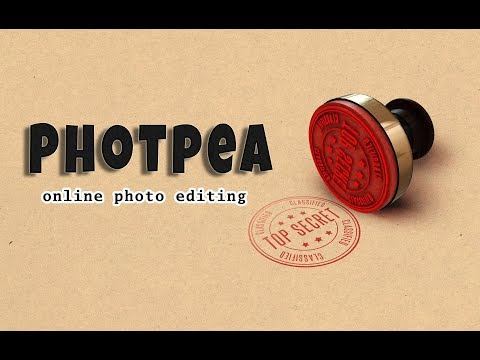 How to use Photopea, online photo editing site || Text Effect in photo editing