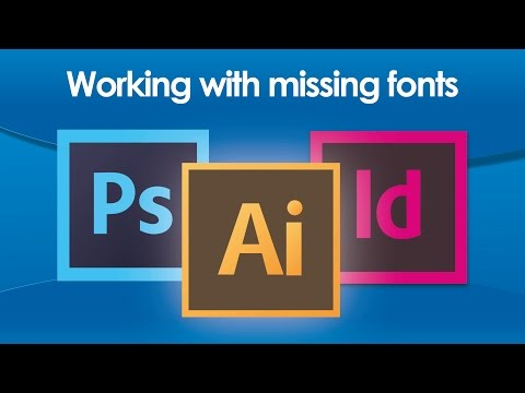 Working with missing fonts in Illustrator