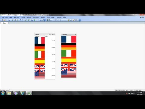 How To Add Images and Pictures In Pivot Tables and ListBoxes - QlikView Software