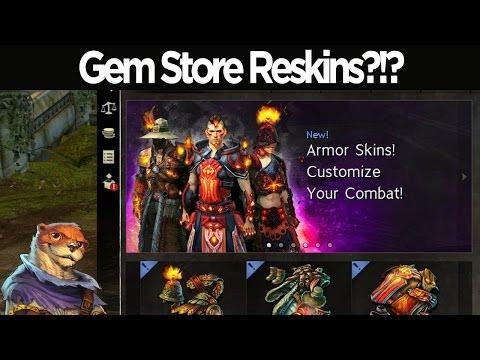Gem Store Reskins?!?! - Guild Wars 2