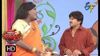 Rocket Raghava Performance | Jabardasth |  12th April 2018   | ETV  Telugu