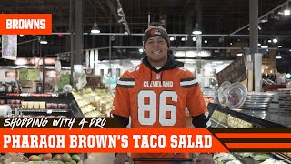 Pharaoh Brown's Taco Salad | Shopping With a Pro
