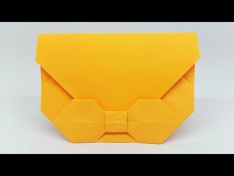 DIY: Easy Origami Envelope Tutorial - Paper Envelope making ideas