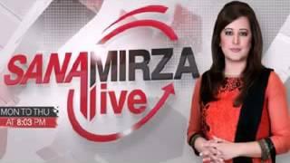 Sana Mirza Live 7 April 2016 Sheikh Rasheed Latest Interview