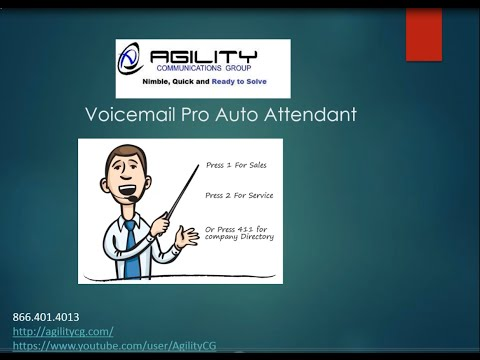 AgilityCG Avaya IP Office 9.1 Inbound Call Routing and Voice Mail Pro Call Flows PART 1