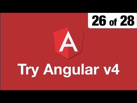 Try Angular v4 // 26 of 28 // ngClass