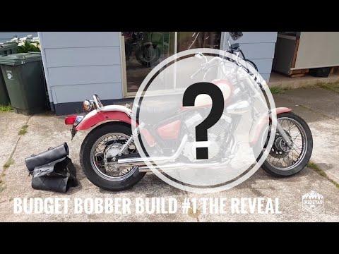 Budget Bobber Build #1   The Project Bike Reveal Yamaha Virago XV250 V-Star Route 66