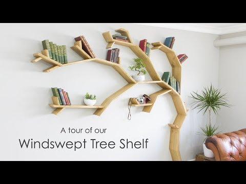 Tree Shelf Tour - A Quick Look Around our 2.1m Windswept Tree Shelf