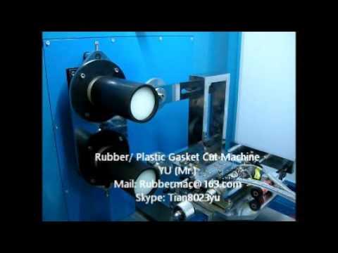 Rubber / Plastic gasket (Washer) Cut Machine