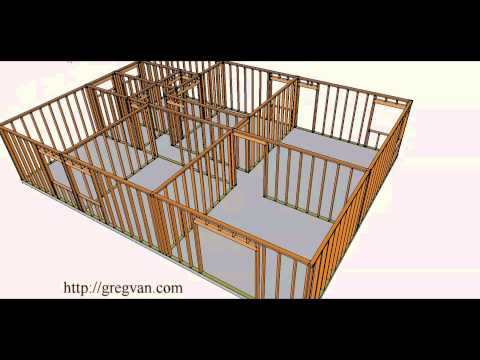 Structural Wall Removal Tutorial – Conventionally Framed Roof Single-Story Home