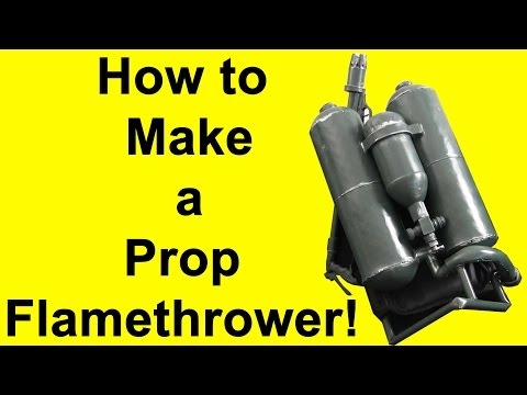 How to Make a Flamethrower (DIY)