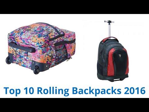 10 Best Rolling Backpacks 2016