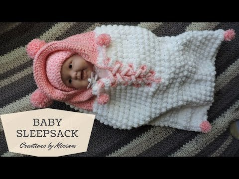 Baby Sleepsack super easy for Beginners