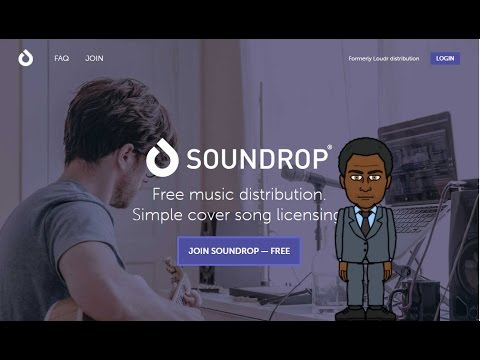 How To Sell Your Music On iTunes/Spotify for Free Using Soundrop Formerly Loudr