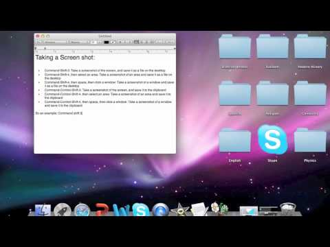 How to take screenshot with Macbook Pro
