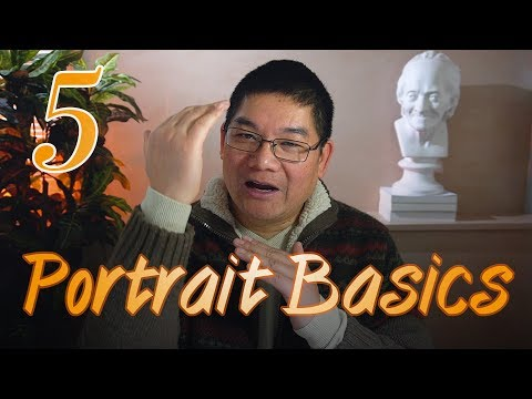 Learn portrait drawing in easy steps - part 5: horizontal location for eyes