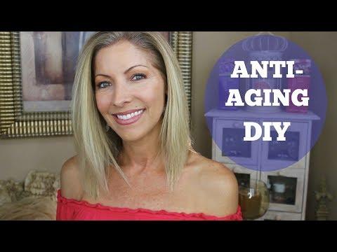 Anti-Aging, Skin Tightening, Acne Fighting DIY for Dry Skin ~ Aloe Vera/Castor Oil for skin