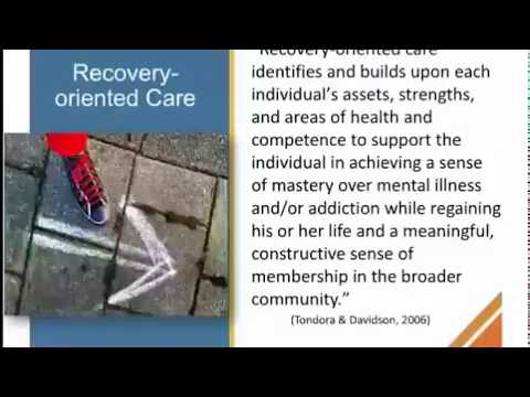 Engagement and Recovery:  Therapeutic Alliance and Its Impact on Engagement
