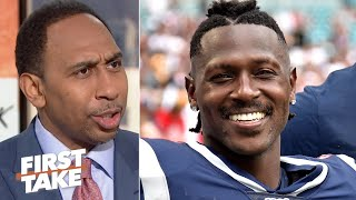 Stephen A. isn't changing his mind about Antonio Brown | First Take