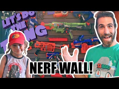 Recycling, Building A Nerf Wall, And Unexpected Great Game Pickup!