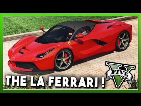 FERRARI CAR MOD!! (Drive a Ferrari in GTA5) - GTA 5 CAR MODS