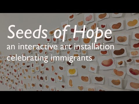 Seeds of Hope An Interactive Art Installation Celebrating Immigrants