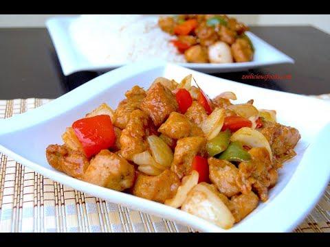 HOW TO MAKE SWEET CHILI CHICKEN SAUCE - CHILI CHICKEN RECIPE - ZEELICIOUS FOODS