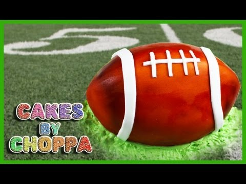SUPERBOWL American Football Cake (How to)