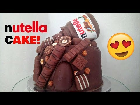 How To make An Amazing Nutella Pouring Cake!!