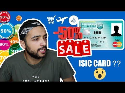 Isic Card - !!!مش لازم تستنى التخفيضات اعمل تخفيضك بنفسك