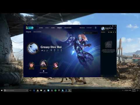 League of Legends Alpha Client: Profile Icons