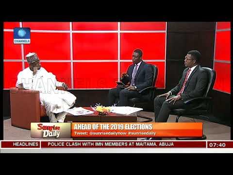 2019: Ensure A Clean Electoral Process, Keep Nigeria Alive & United, Tanko Warns INEC Pt.2