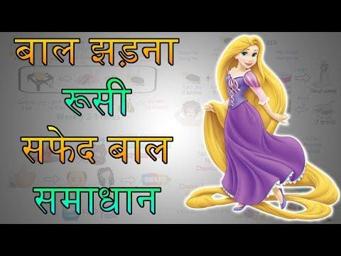 बालों की सभी समस्याओं का हल - Hair Fall Solution In Hindi