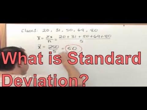 What is Standard Deviation? Probability and Statistics - Standard Deviation Formula & Calculation