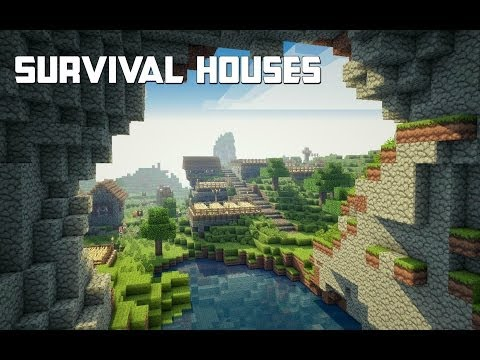 Minecraft - Survival House Ideas (Quick And Easy) Tutorial Xbox 360, PS3 And PC