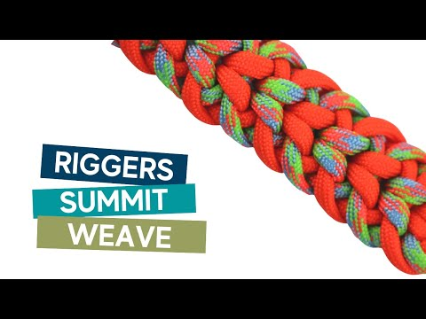 RIGGERS SUMMIT PARACORD TUTORIAL