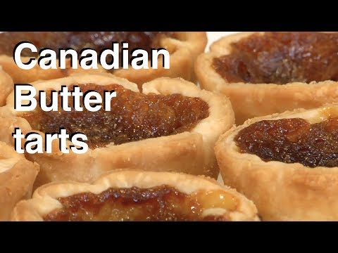 How To Make A Canadian Butter Tart    Le Gourmet TV Recipes