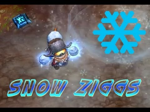 Snow Day Ziggs skin - League of Legends