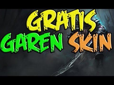 GRATIS SKIN DreadKnight Garen EUW|EUNE
