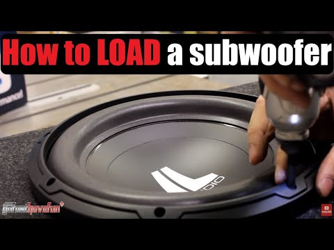Sub Woofer Install / Loading an Enclosure (Atrend | Bassworx)