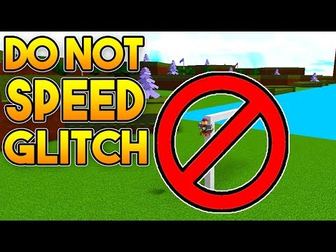 DO *NOT* SPEED GLITCH!   Build A Boat For Treasure ROBLOX
