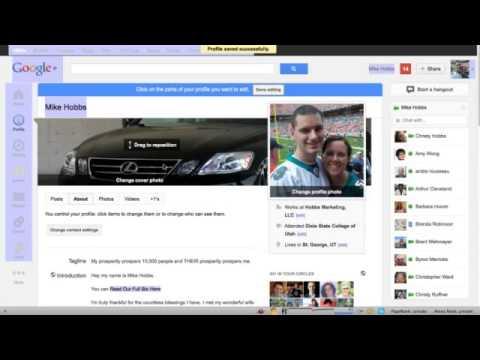 Google Plus Backlink Strategy