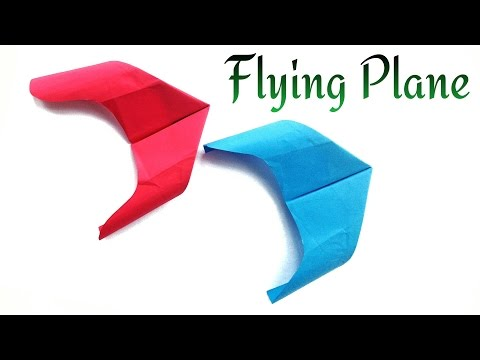 Paper Flying Rocket Plane- Comet- Flies fast and accurate, a long distance too!